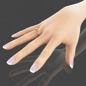 14K Rose Gold Morganite Ring Designer Engagement Ring Flower Wedding Ring Art Deco Ring Unique Engagement Ring Leaf Ring