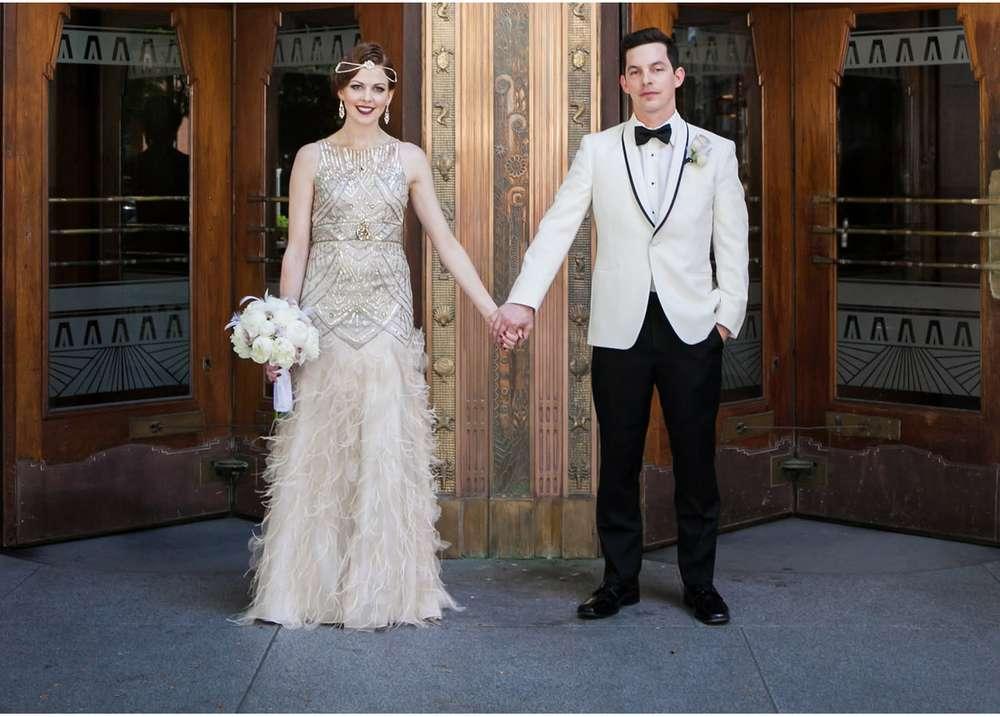 great gatsby inspired wedding dress