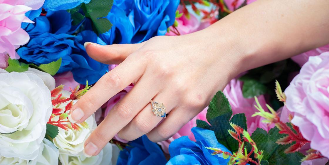 will hand sanitizer damage my ring