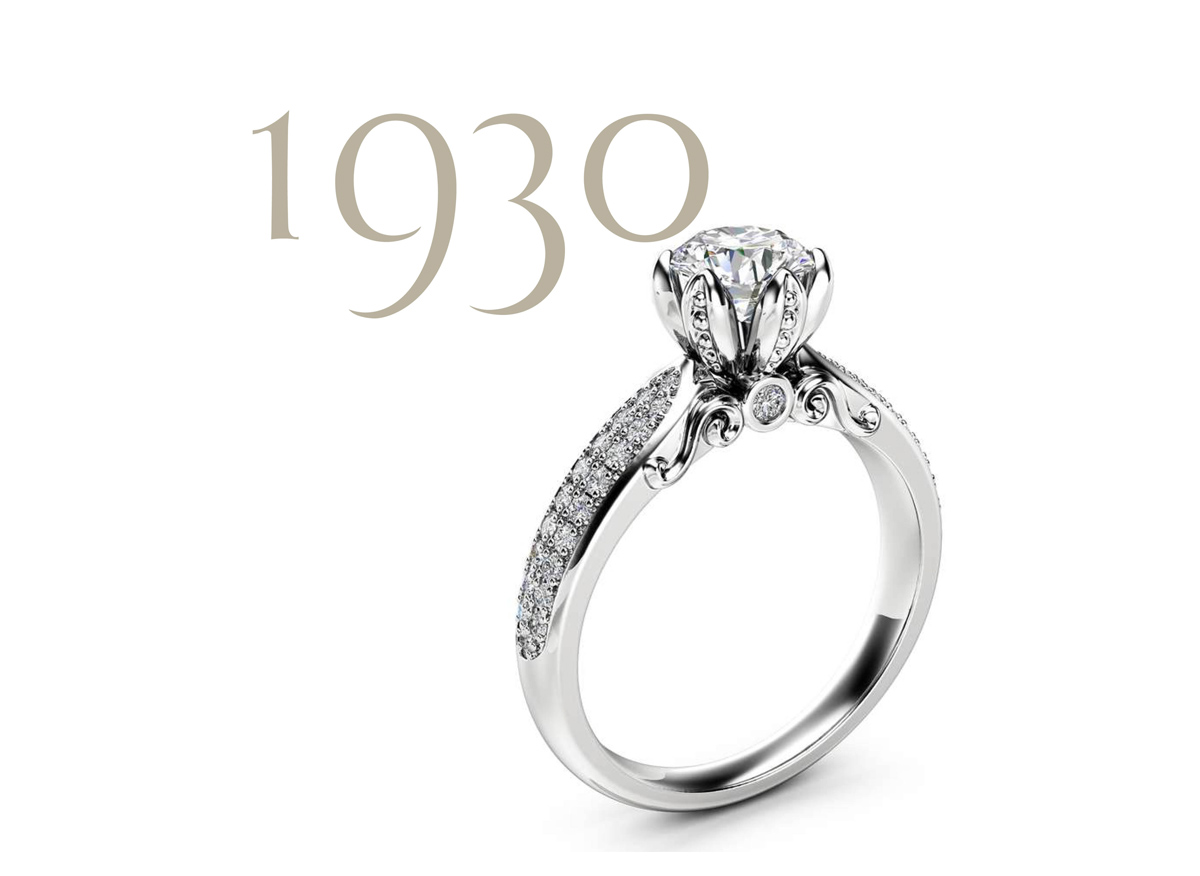 natural diamond pave ring camellia jewelry