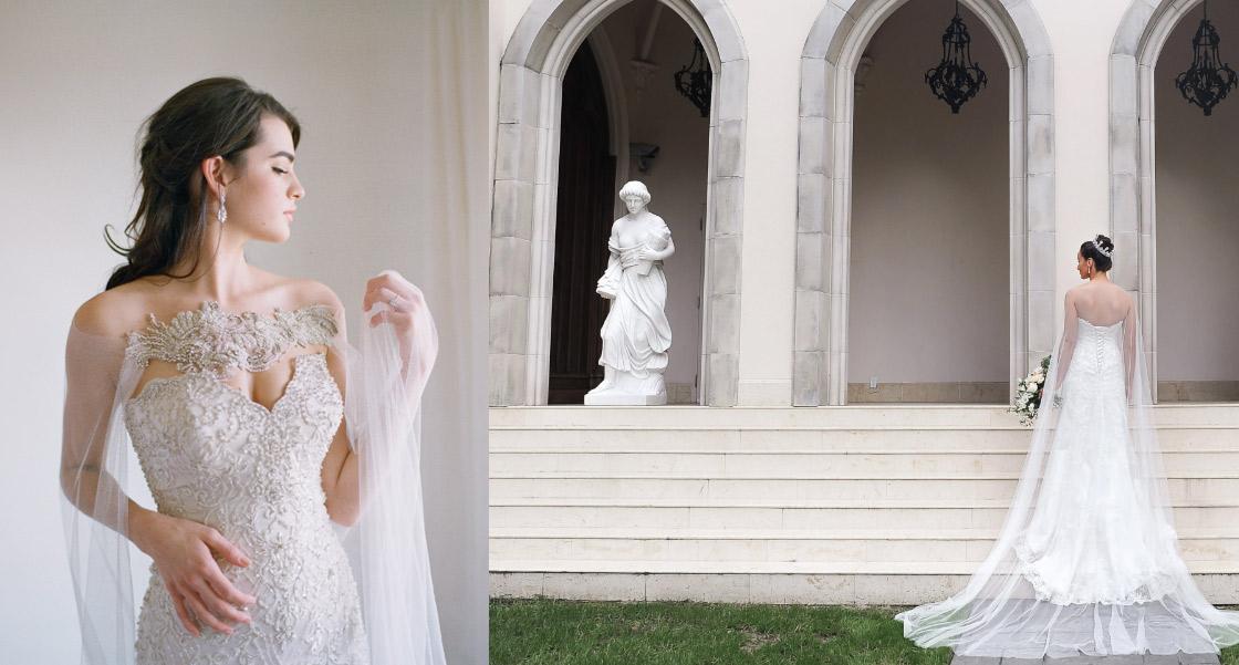 eden luxe bridal capes