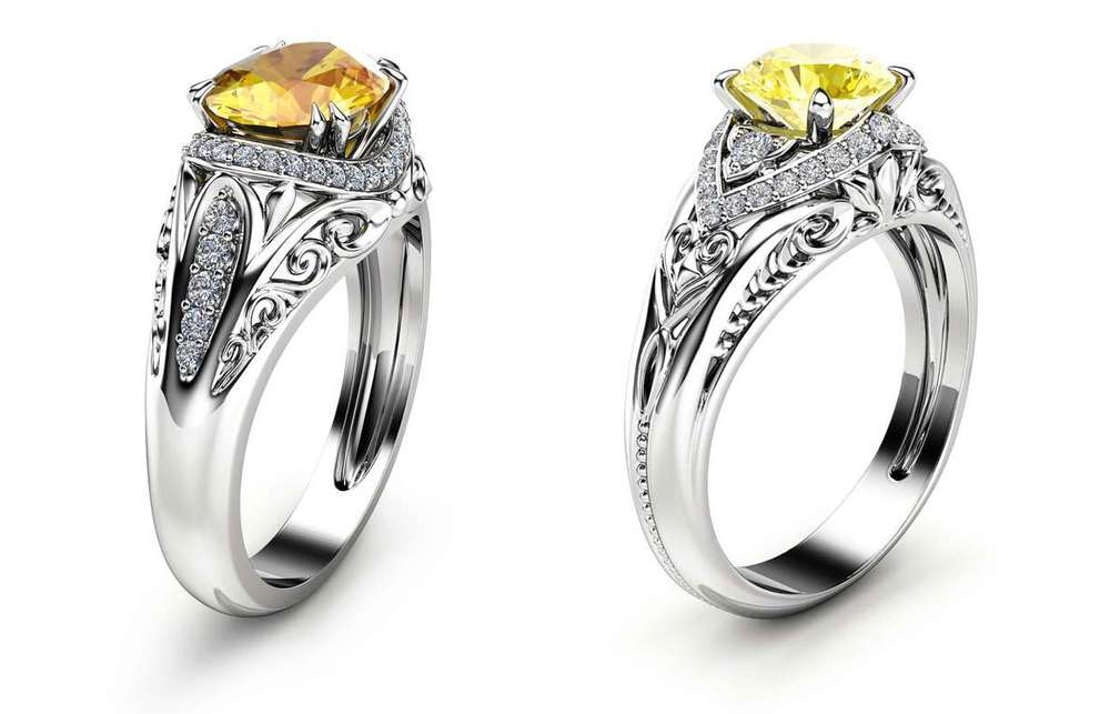 what's the difference between yellow diamond and yellow sapphire