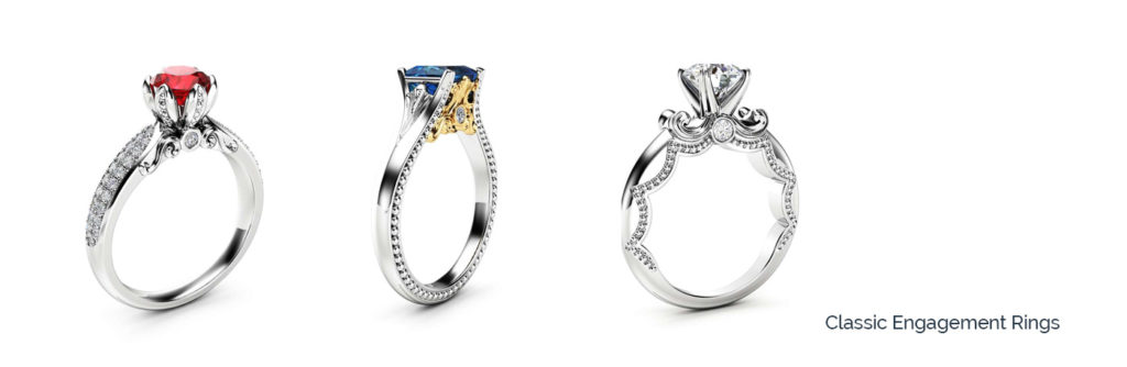 classic engagement rings under $3500