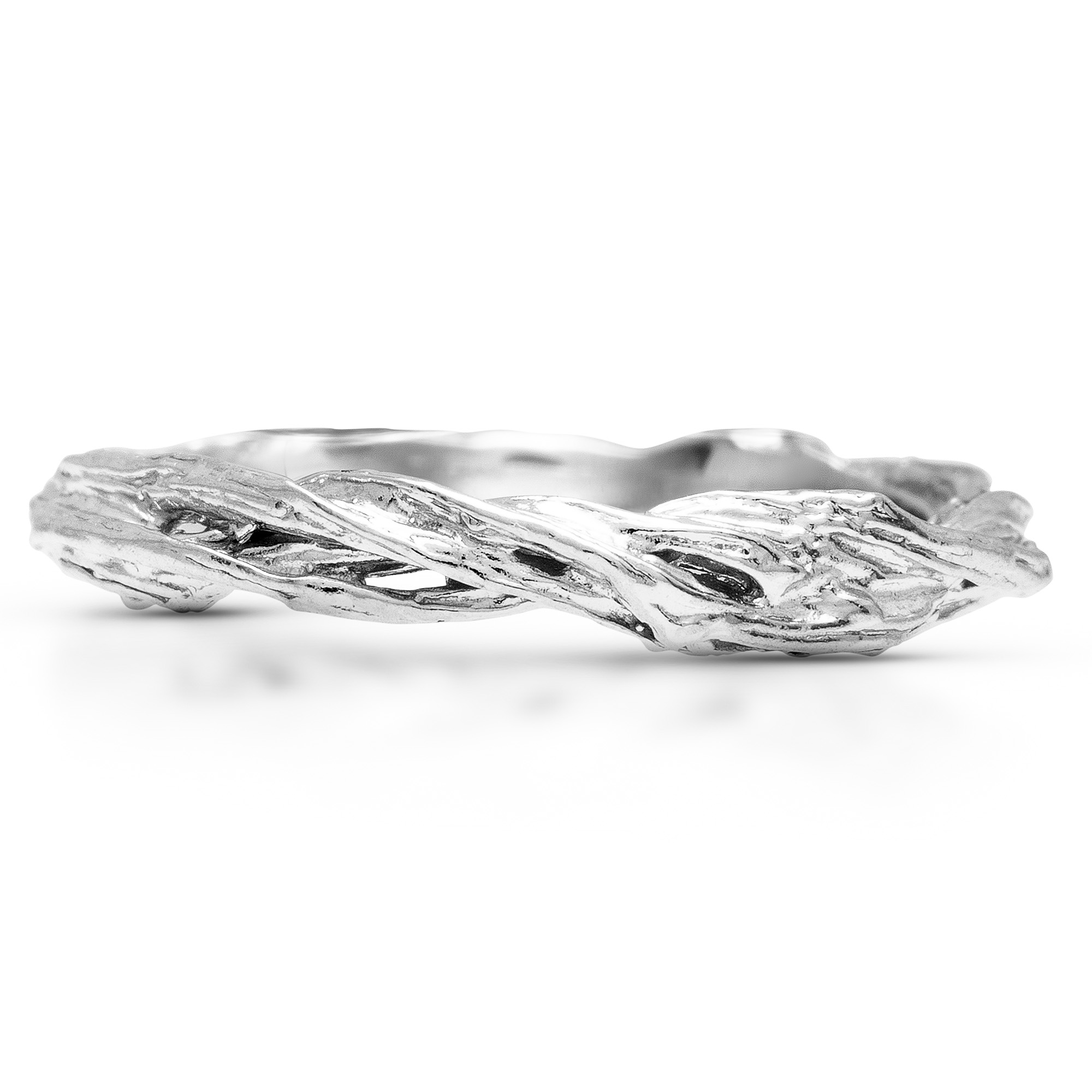 Tree Branch Wedding Band Delicate Twig Band Weddings Nature Gold Jewelry